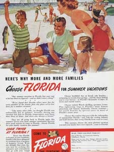 1949 State of Florida - vintage ad
