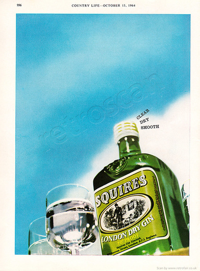 1965 Squires Gin