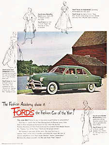 1949 Ford - vintage ad