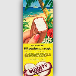 1955 Bounty Bar - vintage ad