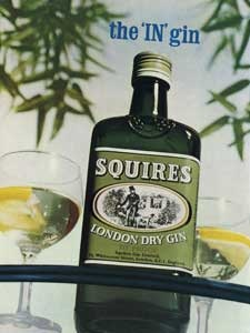 1966 Squires Gin Old Ad