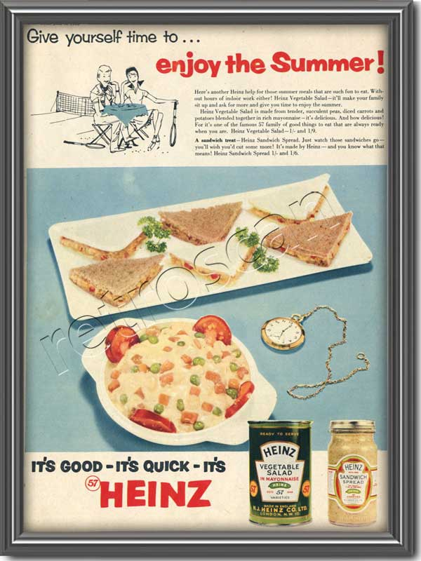 vintage Heinz Vegetable Salad