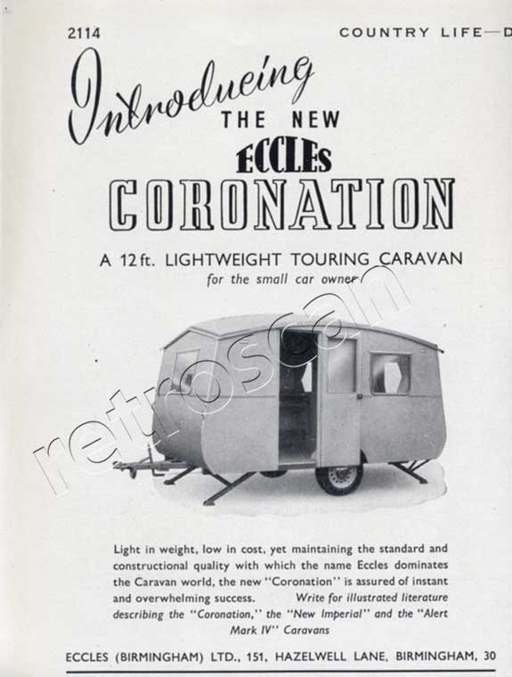 Eccles Caravans - unframed