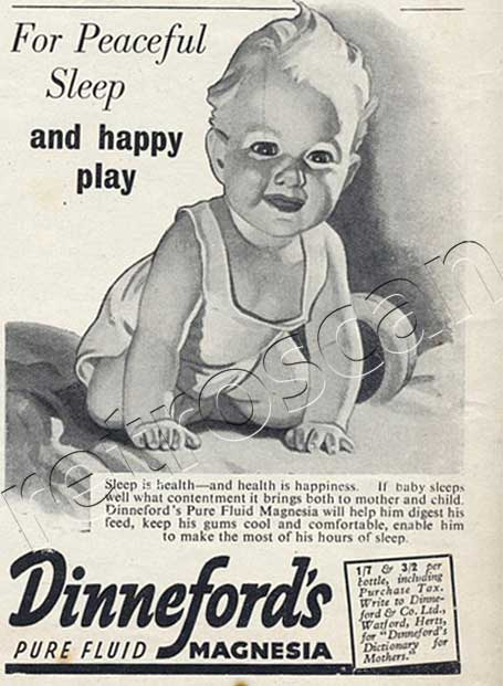 1948 Dinefords vintage ad