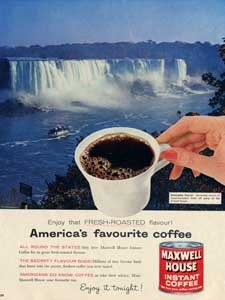 1960 Maxwell House Instant Coffee