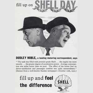 1953 Shell Petrol (Dudley Noble) - Vintage Ad