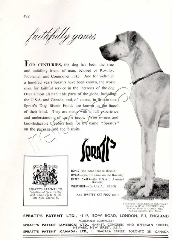 1953 Spratts - unfarmed - vintage