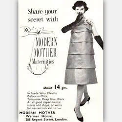 1958 Modern Mother - vintage ad