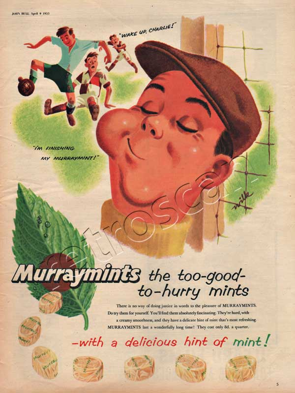 1955 Murraymints - unframed