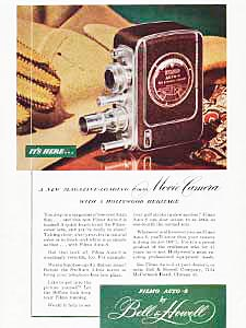 1948 ​Bell & Howell vintage ad