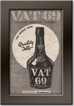 1936 VAT 69 Scotch Whisky