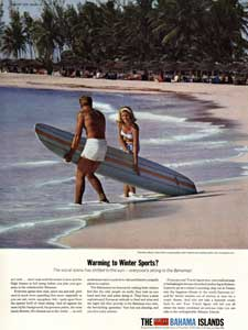 1964 Bahama Islands ad