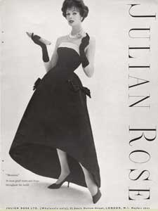1958 Julian Rose - vintage ad