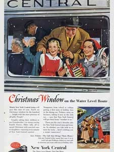 1953 New York Central Lines Christmas