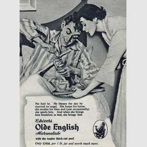 1954 Chivers Old English Marmalade - vintage ad