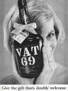 vintage VAT 69 Advert