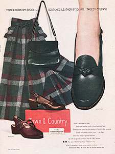 1949 ​Town & Country - vintage ad