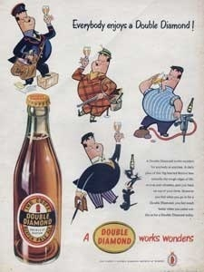1954 Double Diamond Beer