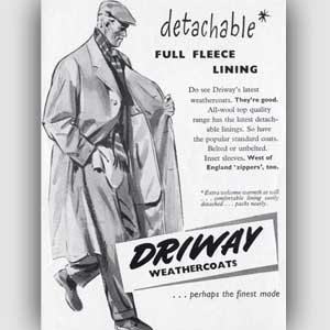 1953 Driway advert