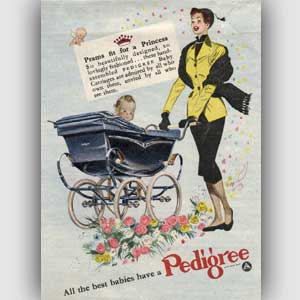 1952 Pedigree Prams