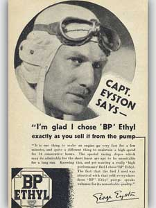 1936 BP Ethyl Eyston - vintage ad