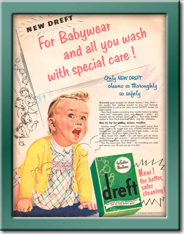 vintage Dreft advert
