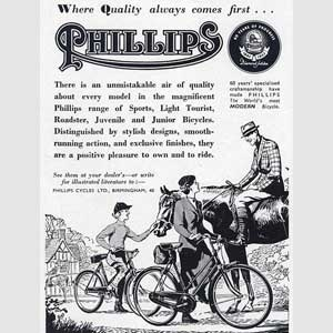 1952 Phillips Bicycles