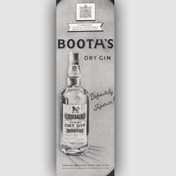 1950 Booths Gin ad