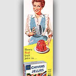 1955 Chivers Jelly - vintage ad