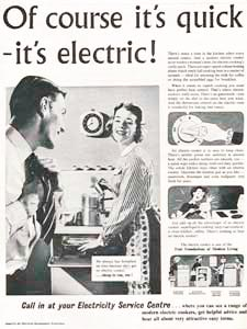 1955 ​Electricity Council - vintage ad