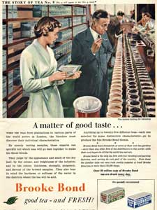 Brooke Bond Story of Tea No. 9