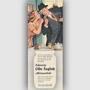 1954 Chivers Olde English Marmalade - vintage ad