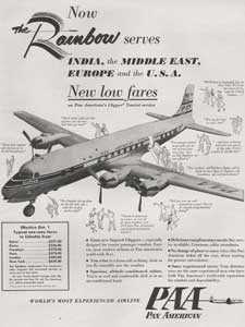1953 Pan Am advert