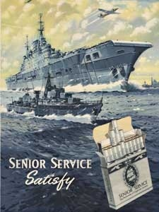 1955 Senior Service Aircraft Carrier