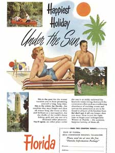 1951 Florida vacations