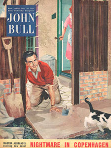 1954 John Bull Cat and concrete
