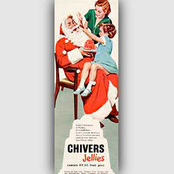 1954 Chivers Jelly - vintage ad