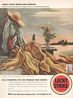 1942 ​Lucky Strike Cigarettes - vintage ad