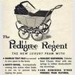 1948 Pedigree Prams  vintage ad