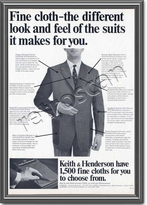 1968 Keith & Henderson Company - framed preview