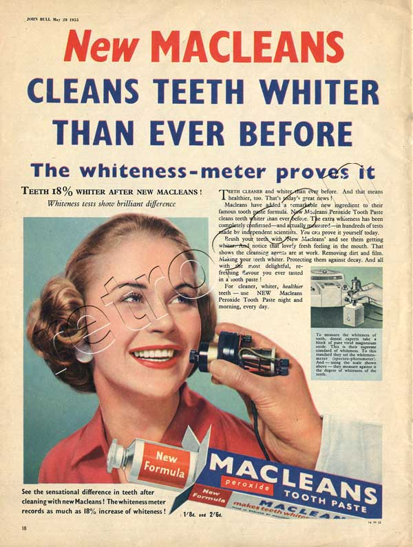 55 Macleans Toothpaste