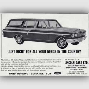 1964 Ford Fairlane 500 Station Wagon - vintage