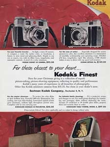 1953 Kodak Cine Cameras and projectors