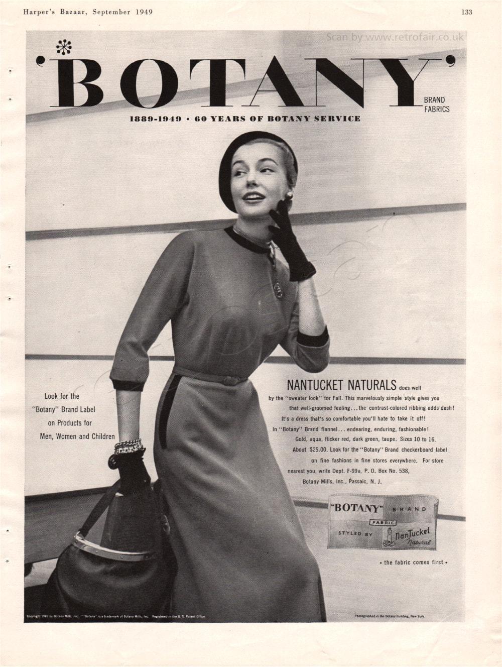 1949 Botany Brand unframed preview
