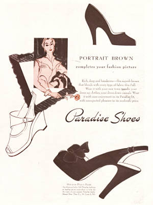 ​1949 ​Paradise Shoes vintage ad