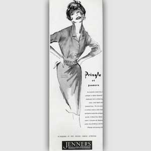 1961 Pringle at Jenners - vintage