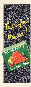 1954 Rowntree's Jelly - unframed vintage ad