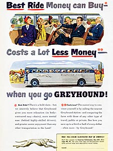 1950 Greyhound Bus