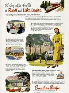 1952 Canadian Pacific - vintage ad