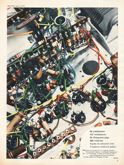 1955 Murphy Electronics - unframed vintage ad